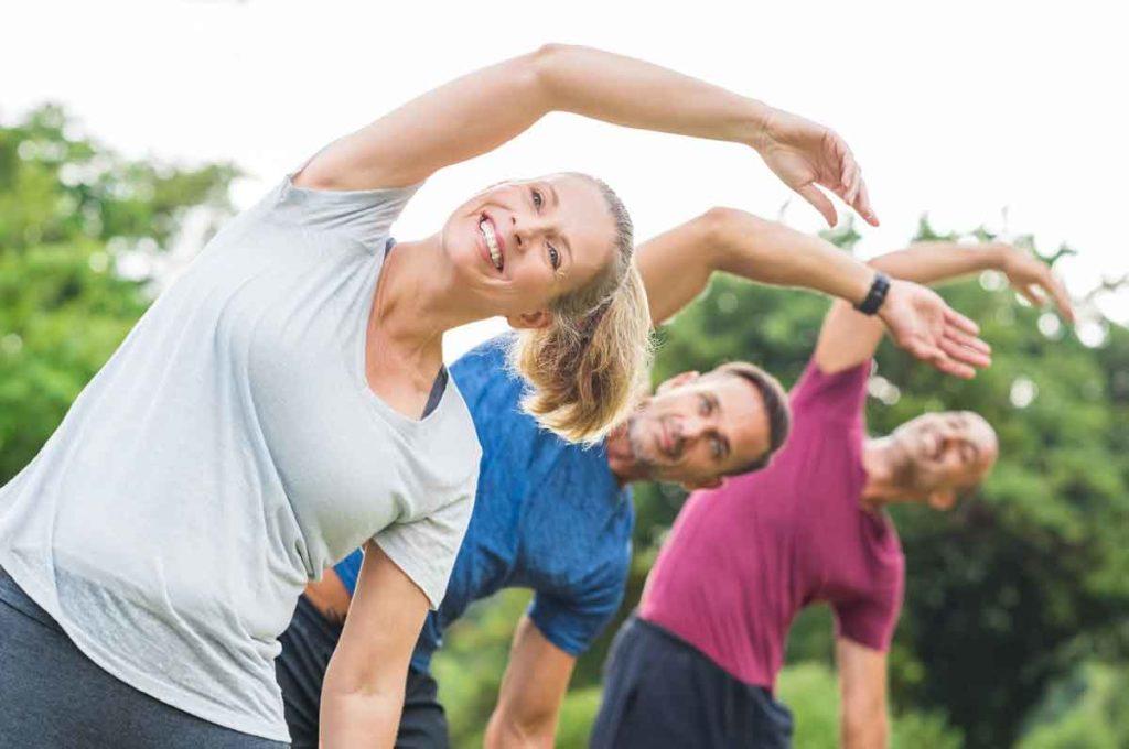 Figura 4. El ejercicio físico a todas las edades contribuye a múltiples beneficios en nuestra salud física y mental.