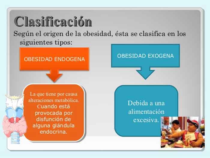 Figura 2. Tipos de obesidad.