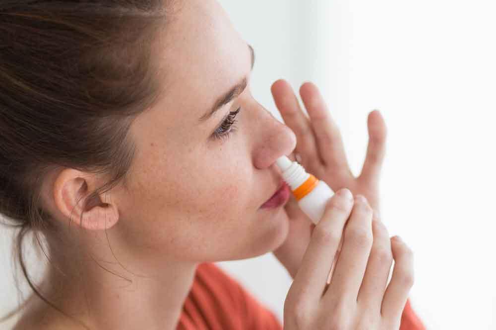 Figura 7. Espray nasal de nicotina.