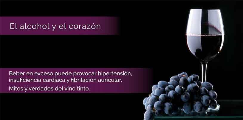 Figura 5.  El efecto beneficioso del vino tinto y su poder antioxidante está en los flavonoides.
