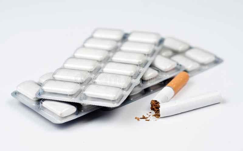 Figura 6. Chicles de nicotina.